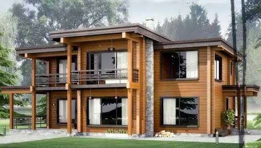 Об основных достоинствах домов из оцилиндрованного бревна