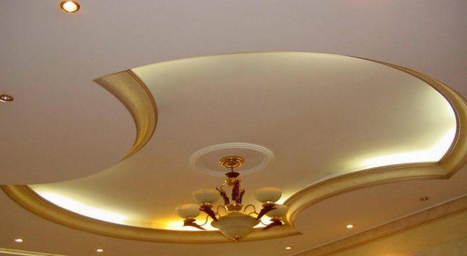 Как выполнить монтаж потолка из гипсокартона своими руками