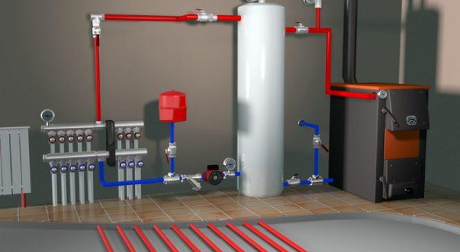 Как работает система с котлом отопления?