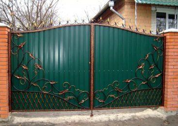 О преимуществах кованных ворот